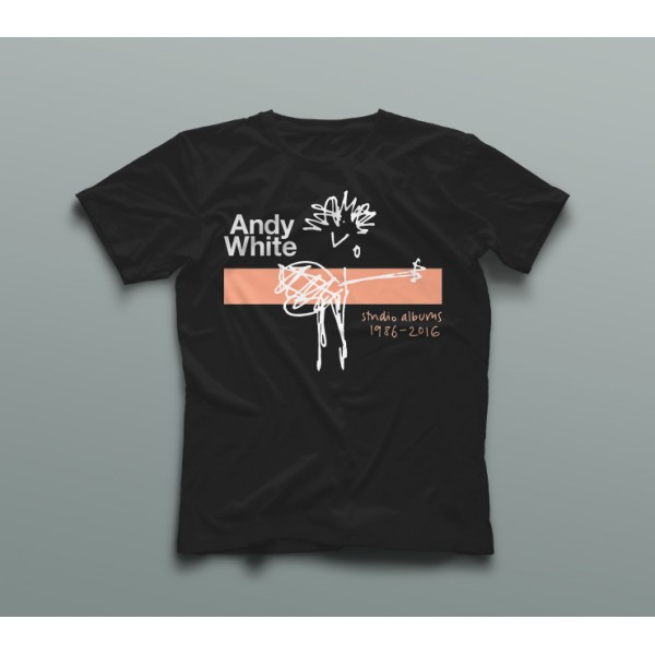 Andy White Box Set T Shirt Black 2016 Sold Out